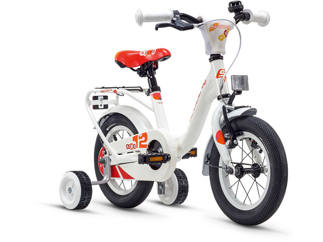 s'cool niXe 12 Børnecykel alloy hvid | City-cykler